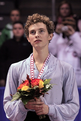 Adam Rippon wins the Bronze Medal at Skate Canada 2010