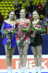 Photo of the Ladies Podium