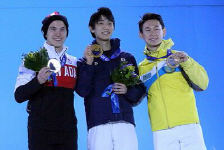 Photo of the Men Podium